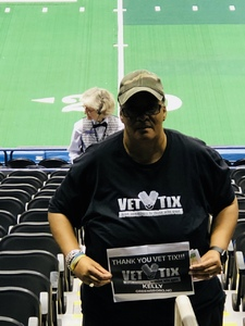 Kelly attended Carolina Cobras vs. Mass Pirates - NAL on May 19th 2018 via VetTix