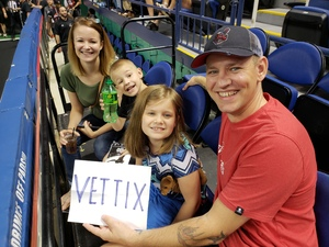 GERALD attended Carolina Cobras vs. Mass Pirates - NAL on May 19th 2018 via VetTix
