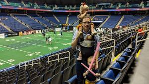 Bradley attended Carolina Cobras vs. Mass Pirates - NAL on May 19th 2018 via VetTix