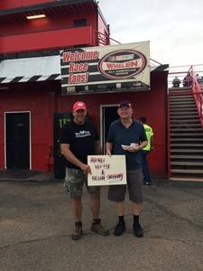 Jerry attended Tucson Speedway: Roasted Rattler on Jul 28th 2018 via VetTix