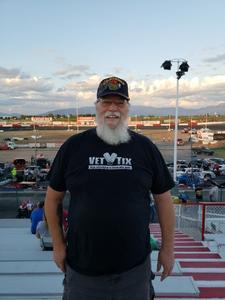 Dennis attended Tucson Speedway: Hot Shot 50 on Sep 1st 2018 via VetTix