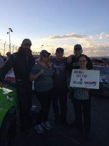 Jerry attended Tucson Speedway: Hot Shot 50 on Sep 1st 2018 via VetTix