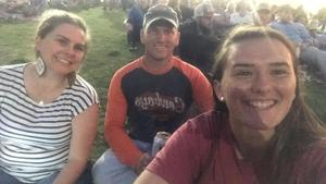 Jonathan attended Brad Paisley Weekend Warrior World Tour Standing and Lawn Seats Only on Apr 13th 2018 via VetTix