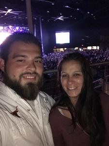 Guerra attended Brad Paisley Weekend Warrior World Tour Standing and Lawn Seats Only on Apr 13th 2018 via VetTix