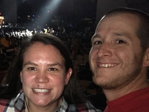 Nicholas attended Brad Paisley Weekend Warrior World Tour Standing and Lawn Seats Only on Apr 13th 2018 via VetTix