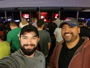Steven attended Brad Paisley Weekend Warrior World Tour Standing and Lawn Seats Only on Apr 13th 2018 via VetTix