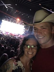 James attended Brad Paisley Weekend Warrior World Tour Standing and Lawn Seats Only on Apr 13th 2018 via VetTix