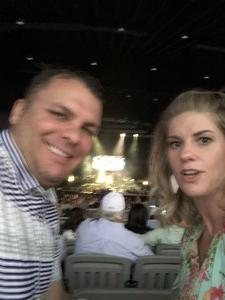 Jon attended Brad Paisley Weekend Warrior World Tour Standing and Lawn Seats Only on Apr 13th 2018 via VetTix