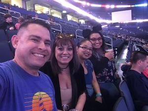 Alfonso attended Lorde: Melodrama World Tour on Apr 11th 2018 via VetTix