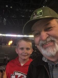 William attended Wichita Force vs. Sioux City - Champions Indoor Football League on Apr 14th 2018 via VetTix