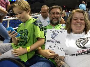 Click To Read More Feedback from Carolina Cobras vs. Columbus Lions - NAL
