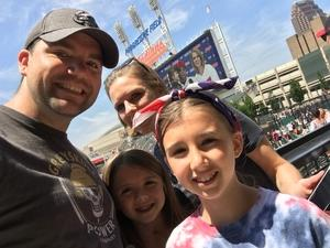 martin attended Cleveland Indians vs. Houston Astros - MLB on May 27th 2018 via VetTix