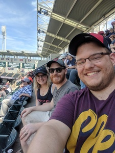 matthew attended Cleveland Indians vs. Houston Astros - MLB on May 27th 2018 via VetTix