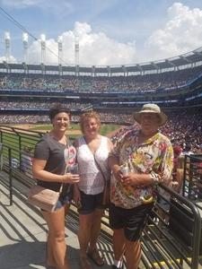 Paige attended Cleveland Indians vs. Houston Astros - MLB on May 27th 2018 via VetTix