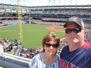 William attended Cleveland Indians vs. Houston Astros - MLB on May 27th 2018 via VetTix