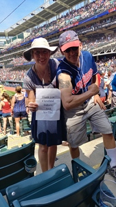 Janet attended Cleveland Indians vs. Houston Astros - MLB on May 27th 2018 via VetTix