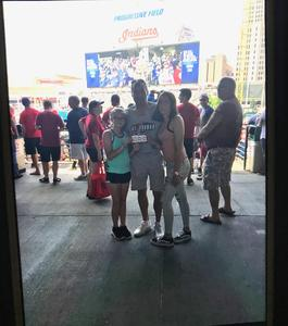 Dave attended Cleveland Indians vs. Houston Astros - MLB on May 27th 2018 via VetTix