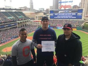 Randy attended Cleveland Indians vs. Kansas City Royals - MLB on May 13th 2018 via VetTix