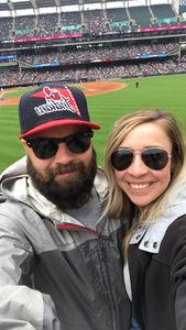 Louis attended Cleveland Indians vs. Kansas City Royals - MLB on May 13th 2018 via VetTix