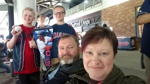 james attended Cleveland Indians vs. Kansas City Royals - MLB on May 13th 2018 via VetTix