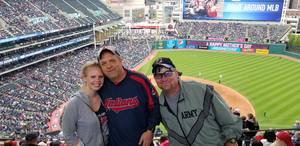 Damon attended Cleveland Indians vs. Kansas City Royals - MLB on May 13th 2018 via VetTix