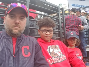 Christopher attended Cleveland Indians vs. Kansas City Royals - MLB on May 13th 2018 via VetTix