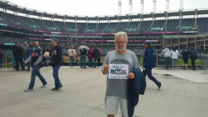 Jim Carrig attended Cleveland Indians vs. Kansas City Royals - MLB on May 13th 2018 via VetTix