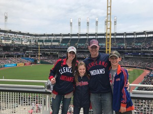 Shawn attended Cleveland Indians vs. Kansas City Royals - MLB on May 13th 2018 via VetTix