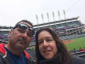Lawrence attended Cleveland Indians vs. Kansas City Royals - MLB on May 13th 2018 via VetTix