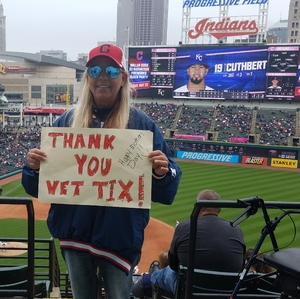 Kathy attended Cleveland Indians vs. Kansas City Royals - MLB on May 13th 2018 via VetTix