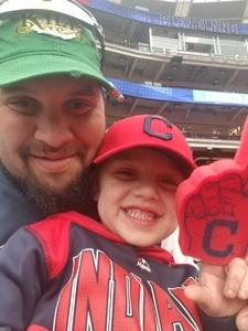 Joseph attended Cleveland Indians vs. Kansas City Royals - MLB on May 13th 2018 via VetTix