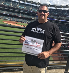 Randy attended Cleveland Indians vs. Tampa Bay Rays - MLB on Sep 2nd 2018 via VetTix