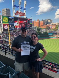 Ron attended Cleveland Indians vs. Tampa Bay Rays - MLB on Sep 2nd 2018 via VetTix