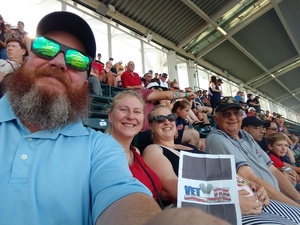 Jackie attended Cleveland Indians vs. Tampa Bay Rays - MLB on Sep 2nd 2018 via VetTix