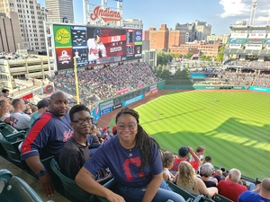 Simon attended Cleveland Indians vs. Tampa Bay Rays - MLB on Sep 2nd 2018 via VetTix