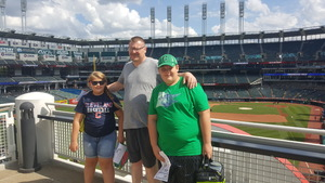 Dean Petrinec and Family attended Cleveland Indians vs. Tampa Bay Rays - MLB on Sep 2nd 2018 via VetTix