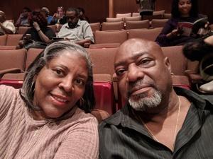 Bernice attended Ruben Studdard Sings Luther Vandross on Apr 14th 2018 via VetTix