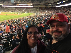 Manuel attended Detroit Tigers vs. Tampa Bay Rays - MLB on May 1st 2018 via VetTix