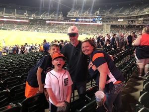 Rebekkah attended Detroit Tigers vs. Tampa Bay Rays - MLB on May 1st 2018 via VetTix