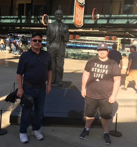 Robert attended Detroit Tigers vs. Tampa Bay Rays - MLB on May 1st 2018 via VetTix
