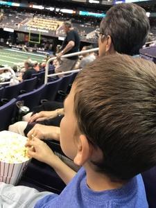 nicholas attended Arizona Rattlers vs. Green Bay Blizzard - IFL on Apr 21st 2018 via VetTix