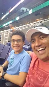 DIEGO attended Arizona Rattlers vs. Green Bay Blizzard - IFL on Apr 21st 2018 via VetTix