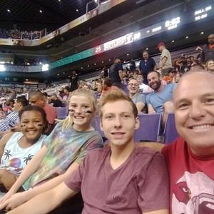 Mikel attended Arizona Rattlers vs. Green Bay Blizzard - IFL on Apr 21st 2018 via VetTix
