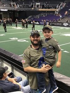 Michael attended Arizona Rattlers vs. Green Bay Blizzard - IFL on Apr 21st 2018 via VetTix