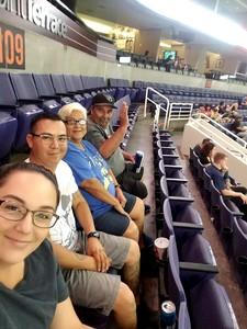 Monica attended Arizona Rattlers vs. Green Bay Blizzard - IFL on Apr 21st 2018 via VetTix