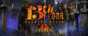 13th Floor Haunted House Phoenix Halloween Night