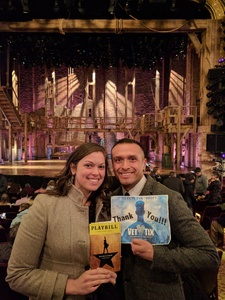 Click To Read More Feedback from Hamilton Tickets