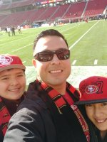 Click To Read More Feedback from Attend San Fransisco 49ers Game