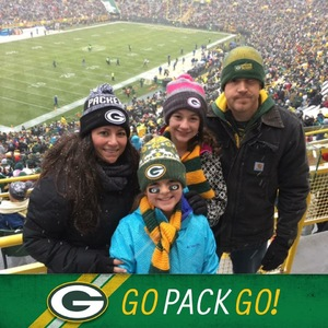 Click To Read More Feedback from Green Bay Packer Game Lambeau Field