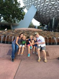 Click To Read More Feedback from 1-day Peak pass for Epcot for my family